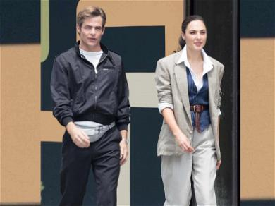Chris Pine Gets His Fanny Back on Set With Gal Gadot for 'Wonder Woman' Sequel