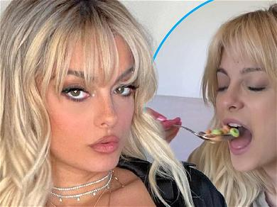 Bebe Rexha Freaks Out Fans By Putting Ice Cubes In Fruit Loops Milk