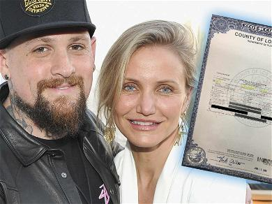 Cameron Diaz and Benji Madden's Daughter's Middle Name Is 'Wildflower,' See The Birth Certificate!