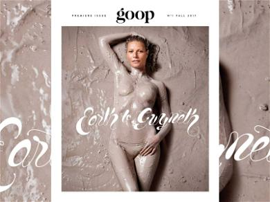 Gwyneth Paltrow Gets Naked and Goopy for Magazine Shoot