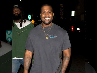 Kanye West All Smiles After Supporting Armenian American Art Magnate