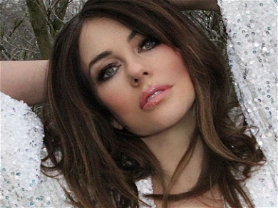 Elizabeth Hurley Unleashes Legs For Days With Killer Thigh Slit