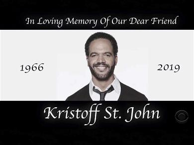'Young and the Restless' Pays Tribute to Kristoff St. John in Last Episode