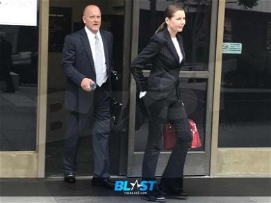 Geena Davis Shows Up to Court Seeking Dismissal of Divorce Case