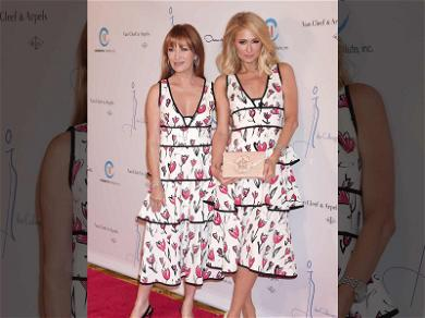 Oops! Paris Hilton and Jane Seymour Wear the Same Dress to Same Event