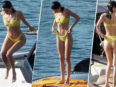 Kendall Jenner Seen Getting Cozy With New Guy During Mykonos Vacay