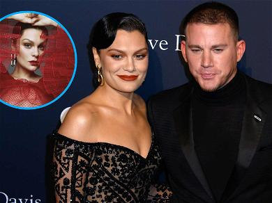 Jessie J Serves Up A Topless Red Babydoll Pic After Confirming It's Back On With Channing Tatum