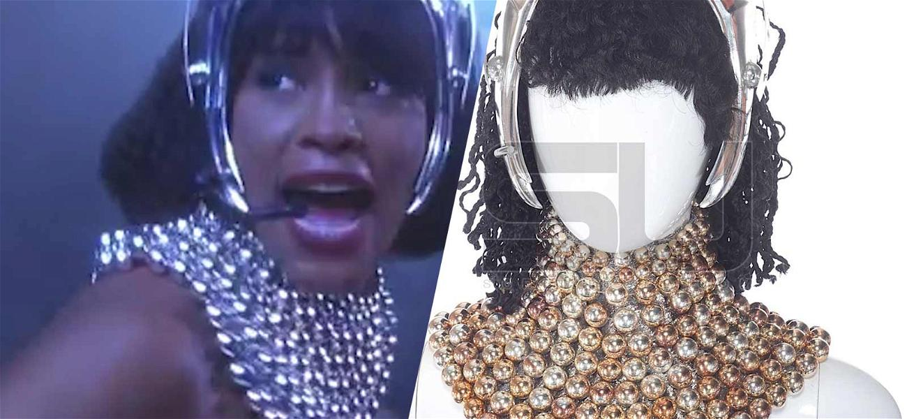 Whitney Houston's Iconic 'Bodyguard' Costume Fetches Five Figures at Auction