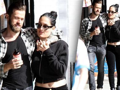 Nikki Bella & 'DWTS' Partner Artem Chigvintsev Serve Up Major PDA During Lunch Date