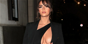 Demi Rose Is A Wet Dream In Barely-There Gold Wrap Swimsuit On Instagram