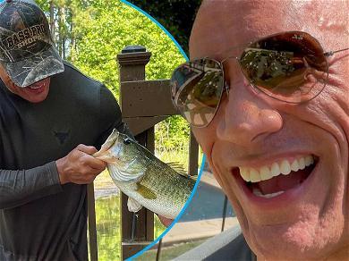 Dwayne 'The Rock' Johnson's Little Girls Kicked BASS During First Fishing Trip