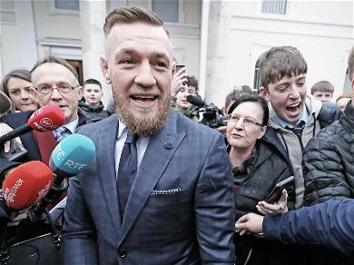 Conor McGregor in the Clear Over Phone-Smashing Attack