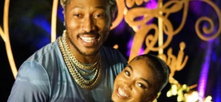 Rapper Future & Girlfriend Lori Harvey Throw Las Vegas Casino Night At LA Mansion