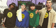 Justin Bieber Hits Up Nyjah Huston's Private Skate Park During Hailey's Bachelorette Party