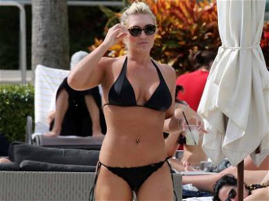 Brooke Hogan Soaks Up the Sun Poolside