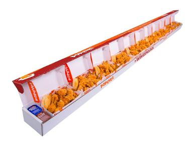 Popeyes Releases Gigantic Chicken Box in Honor of Zion Williamson's Wingspan