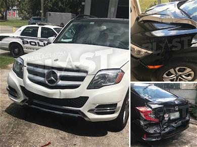 See the Damage 'Big Brother' Star Christmas Abbott Caused After Using Car as Battering Ram Against Baby Daddy's GF
