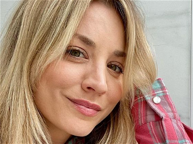 Kaley Cuoco Beats The Bloat After Chips Binge