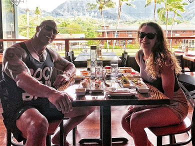 The Rock Shared A Touching Honeymoon Pic, And His Wife Showed Off New Wedding Photos