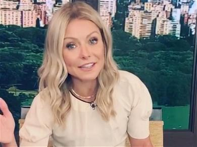 Kelly Ripa Unfussed In Little Black Dress Amid Weight Worries