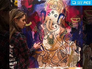 UFC Octagon Girl Brittney Palmer Peddling $100,000 Worth Of Art In First Solo Show