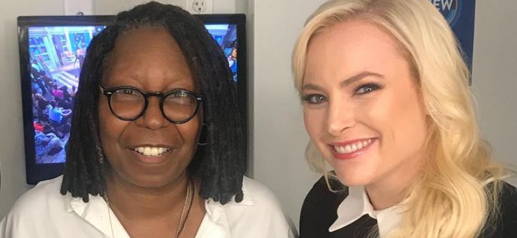 Whoopi Goldberg Cuts Off Meghan McCain On 'The View' Day After Joy Behar Beef