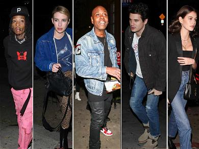 Emma Roberts, Wiz Khalifa, Kaia Gerber Flock to See Dave Chapelle Onstage With John Mayer