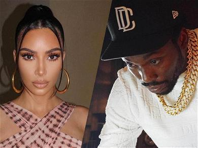 Kim Kardashian & Meek Mill Photo PROOF The Hotel Meeting Was Strictly Business!!