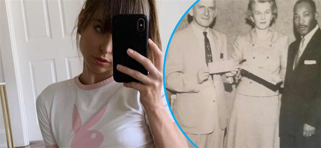 Adult Film Star Riley Reid Reveals Her Great Grandpa Was Honored By Martin Luther King Jr. For Activism