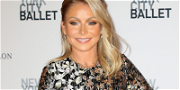 Kelly Ripa Goes Nude On Bottom In Tightest Pencil Skirt Ever