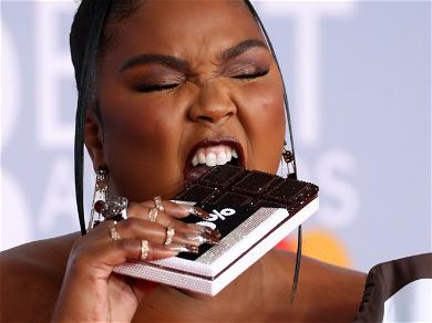 Lizzo Sparks New Weight Fears In Hershey Chocolate Wrapper Dress