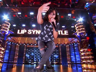 Naya Rivera Slays Big Sean's Breakup-Inspired Anthem on 'Lip Sync Battle'