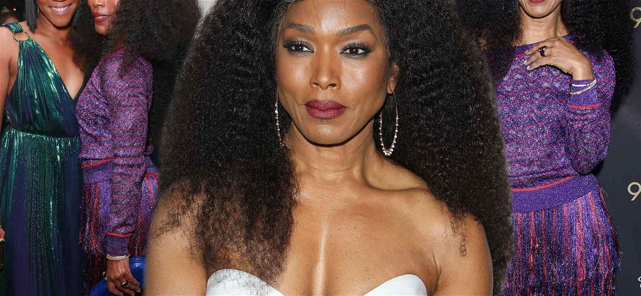 Angela Bassett Is the Busiest Girl in Town Ahead of the Oscars