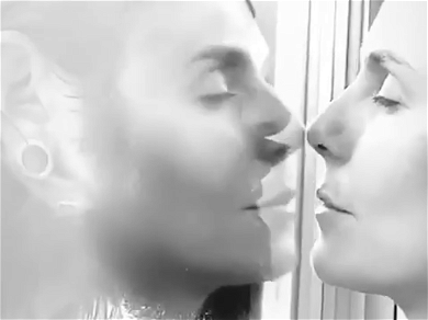 Heidi Klum Shares Heartbreaking Video Kissing Her Husband Through Glass After C-Virus Scare