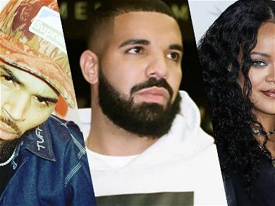 Drake Trolled After Saying He 'Hesitated' On Working With Chris Brown Because Of Rihanna