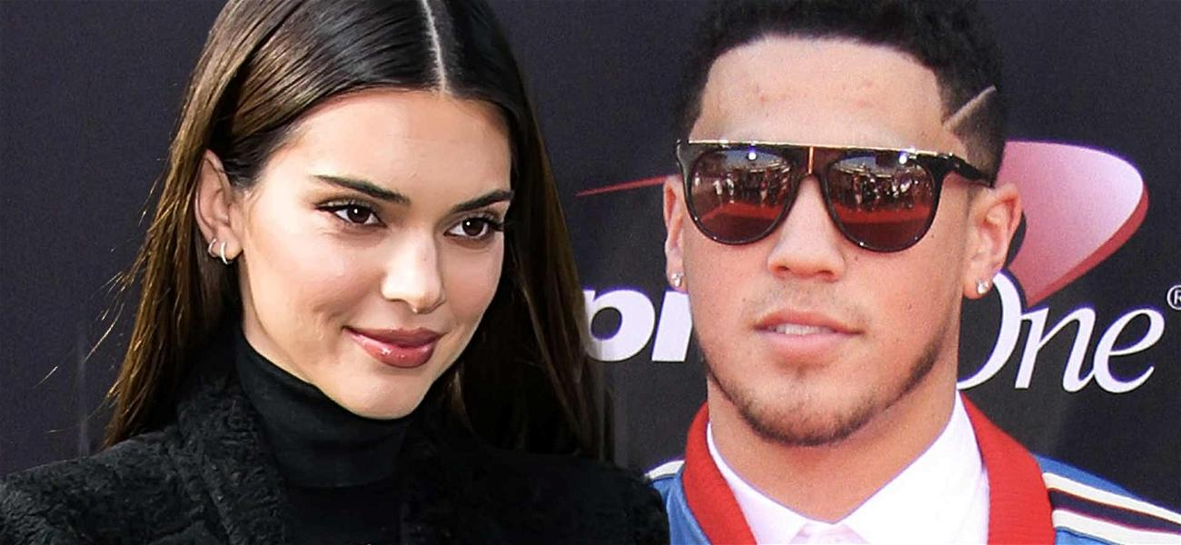 Kendall Jenner Goes IG Official With NBA Star Devin Booker On Valentine's Day