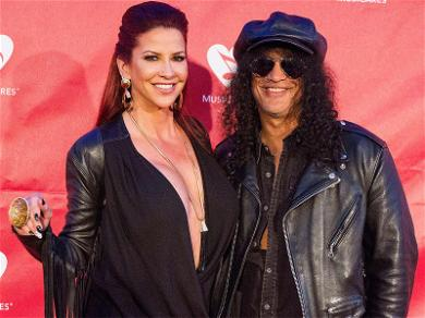 Slash Shows Up to Court to Face Off With Estranged Wife Over Divorce