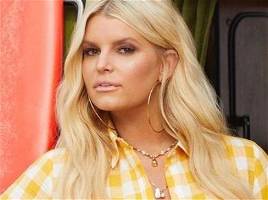 Jessica Simpson Hikes Up Dress In Cowboy Boots Showing 100-Pound Weight Loss