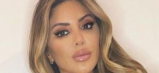 Larsa Pippen Offers Treats In Cupped Denim Minidress With Diamonds
