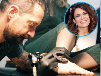 Mandy Moore Gets Tattoo to Commemorate Mt. Kilimanjaro Climb