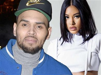 Chris Brown's Baby Mama Ammika Harris STUNS In Never-Before-Seen Pregnancy Snaps