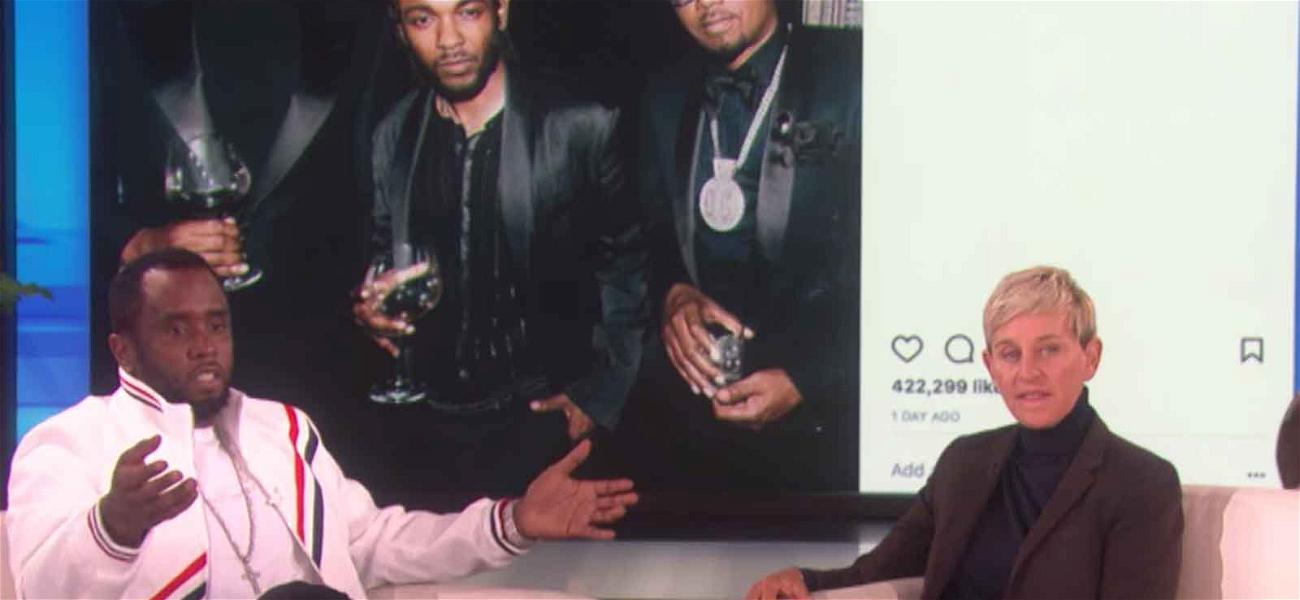 Diddy Finally Cops to the Infamous Instagram #DiddyCrop