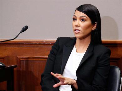Kourtney Kardashian on Kapitol Hill Lobbying Kongress for Kosmetics Regulation