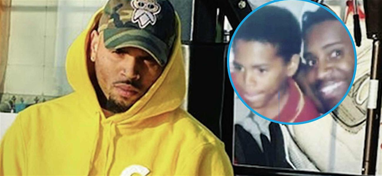 Chris Brown Shares Rare Throwback With His Dad