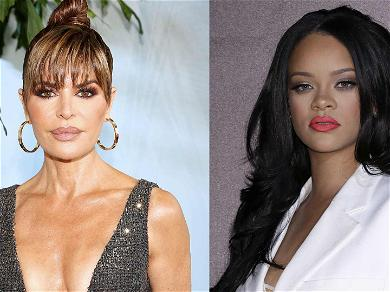 Lisa Rinna Whips Up NSFW Video in Lingerie With Rihanna's Help
