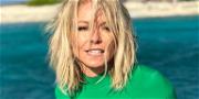 Kelly Ripa Drops Leggy Thirst Trap Kicking 2020 Goodbye