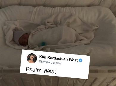 Kim Kardashian and Kanye West Reveal Son's Biblical Name, Welcome Psalm West