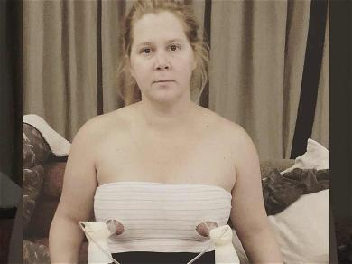 Amy Schumer's Embracing Motherhood With Hilarious Breast Pumping Pic