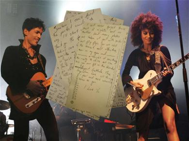 Prince Saved 2011 Love Letter From Singer Andy Allo: 'I'm in Love With You'
