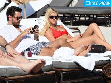 Scott Disick and Sofia Richie Still Beachin' It